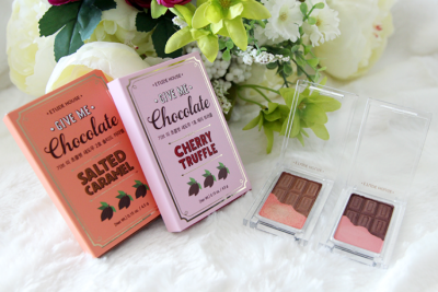 { Review } Etude House Give Me Chocolate Eyeshadows